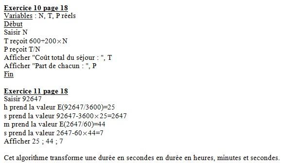 Equations de droites (2) - exercices corrigés 2nde