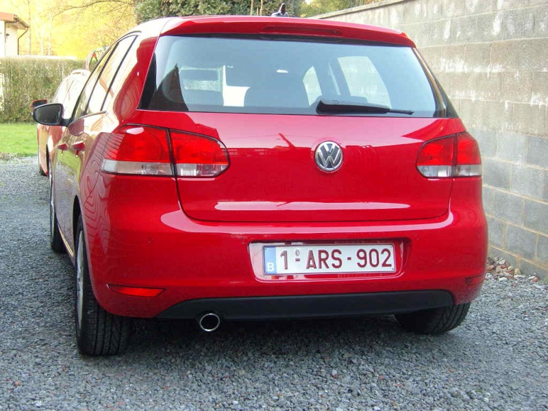 forum vw golf golfistes voir le sujet golf6 golf 6 bluemotion rouge tornado re ue le. Black Bedroom Furniture Sets. Home Design Ideas