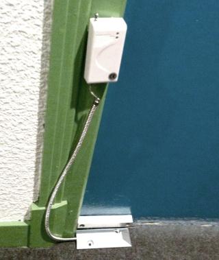 Le contacteur sabot a quoi est t il destin et comment l for Digicode sans fil pour porte de garage