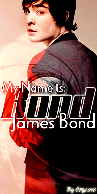 my name is: bond, james bond