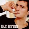 nail bitten