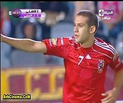 اهداف مباراة فوز الاهلي 2-1 على الانتاج الحربي كأس مصر 2010