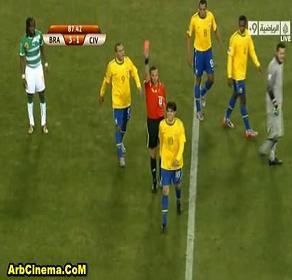 فوز البرازيل 3-1 على كوت ديفوار تحميل ومشاهدة الأهداف