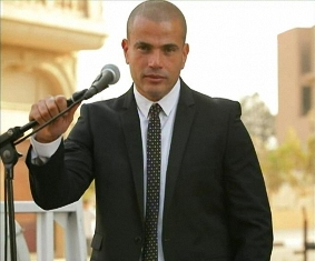 أغاني جديدة لـ عمرو دياب 2011 MP3 لايف من حفل جامعة المستقبل