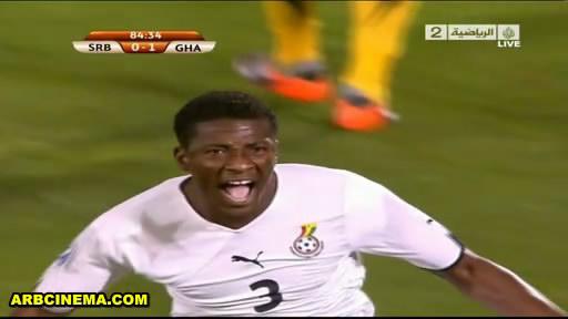 المباراة 2010 Serbia Ghana live snaps181.jpg
