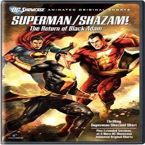 فيلم الانيميشن المميز Superman Shazam The Return of Black Adam 2010 - مترجم