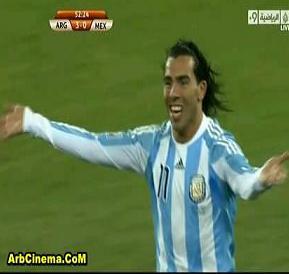 فوز الأرجنتين 3-1 على المكسيك تحميل ومشاهدة اهداف المباراة