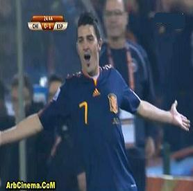 فوز اسبانيا 2-1 على تشيلي تحميل ومشاهدة أهداف المباراة
