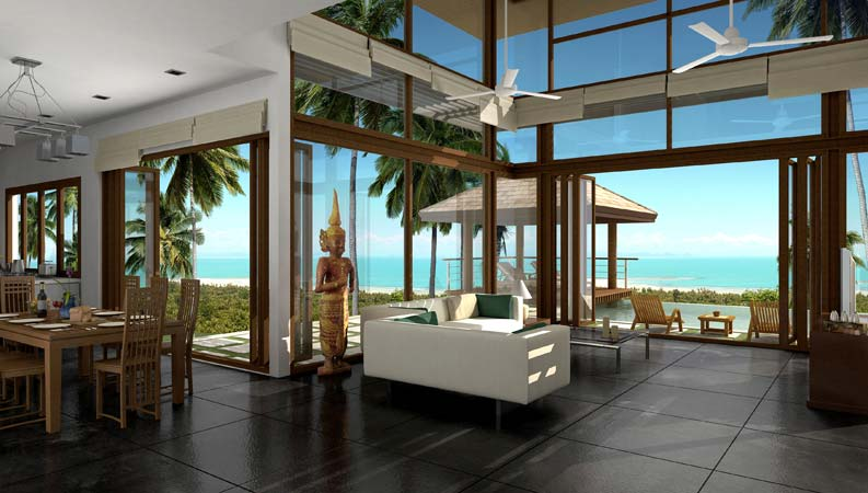Description - Decoration interieur villa luxe ...