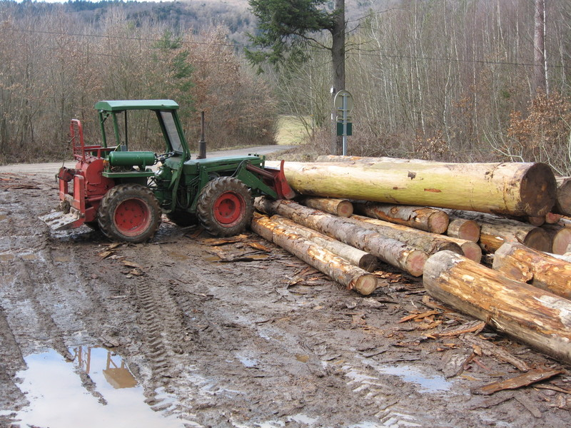 tracteur forestier holder