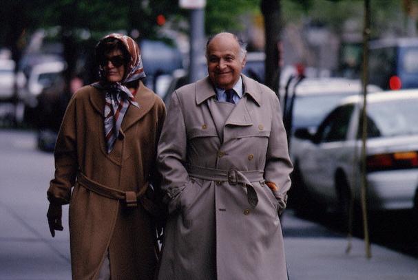 Jacqueline (Jackie) Bouvier, une semaine avant sa mort (12.05.1994)