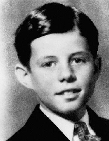 JFK à l'âge de 9 ans (1926)