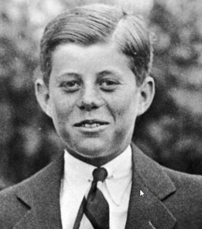 JFK à l'âge de 10 ans (1927)