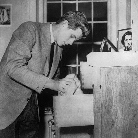 JFK de retour à la Harvard University (1939)