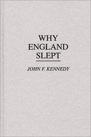 Why England slept (1940)