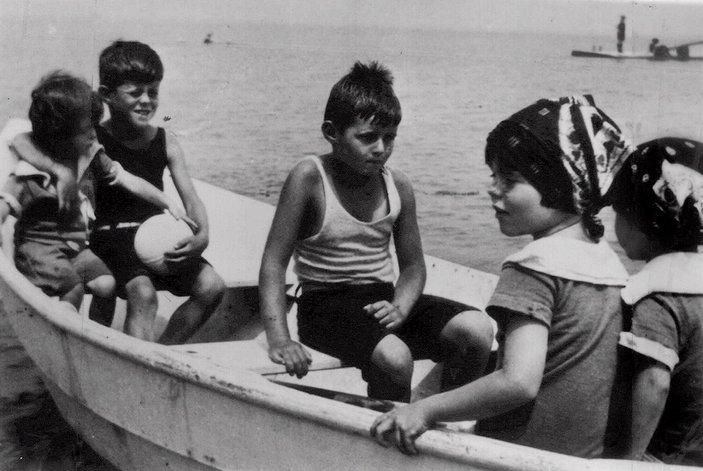 Eunice, JFK, Joe Jr, Rosemary et Kathleen à Hyannis Port (1924)