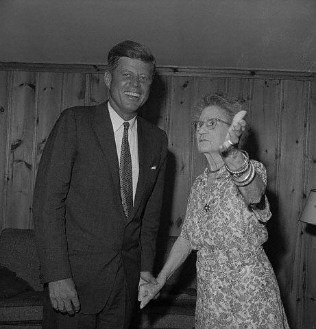 John Fitzgerald Kennedy et Mary Josephine Hannon (07.08.1960)