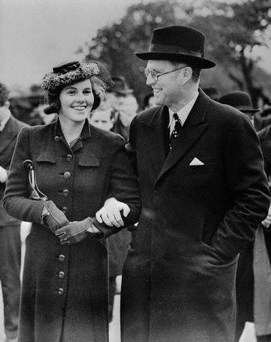 Rosemary Kennedy et Joseph Patrick Kennedy (09.06.1939)