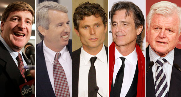 Patrick, Chris, Anthony, Bobby et Ted Kennedy