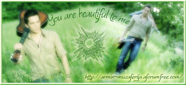 Armin Muzaferija.....za fanove