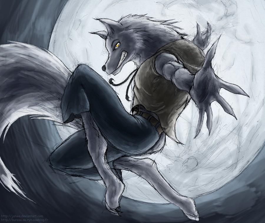 Loup garou un blog 2 dessineuses - Dessin loup garou ...