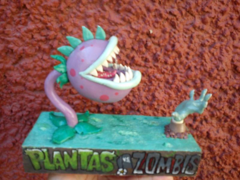 planta en plastilina- plantas vs zombies