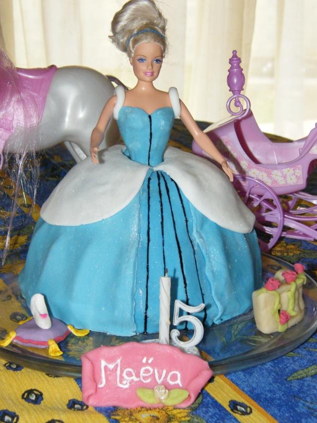 g teau 3d princesse cendrillon cinderella cake le blog de. Black Bedroom Furniture Sets. Home Design Ideas