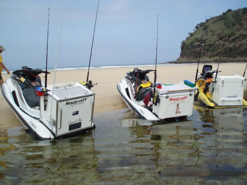 Pwc fishing rig for Jet ski fishing accessories