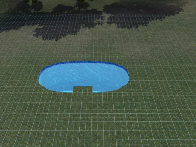 D butant construire une piscine ovale avec acc s vip for Combler une piscine