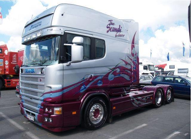 Mon reves de camion for Interieur camion scania