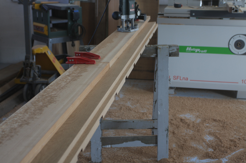 Forum association les copeaux construction d 39 un escalier for Fixer nez de cloison