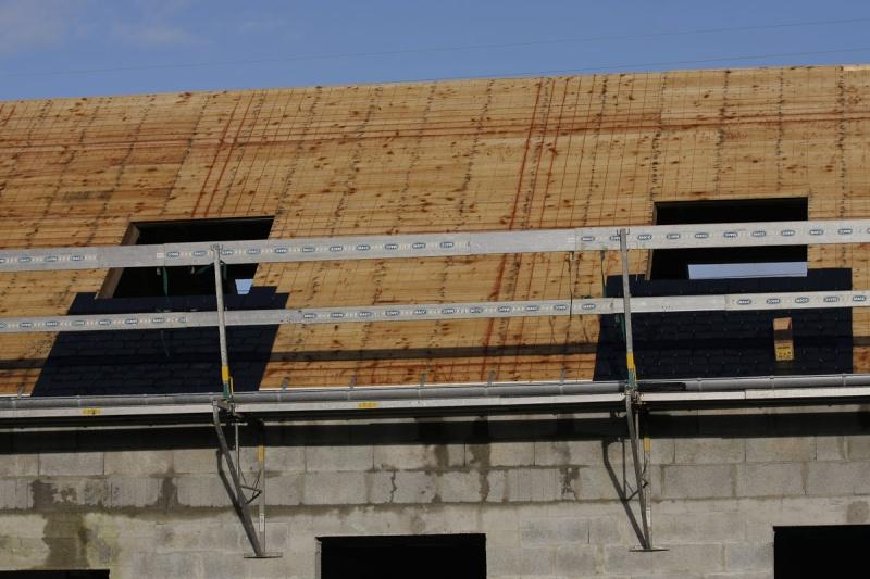 pose bac acier sur volige rev tements modernes du toit. Black Bedroom Furniture Sets. Home Design Ideas