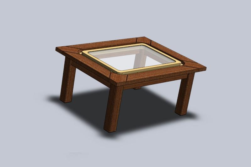 une table basse sabord. Black Bedroom Furniture Sets. Home Design Ideas