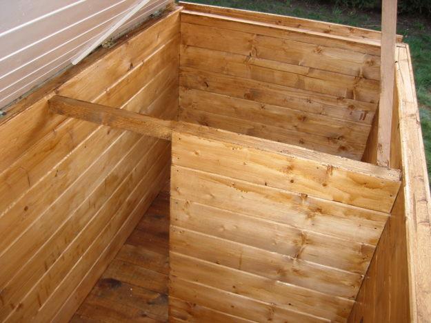 Besoin de votre avis pour une niche chiens forum animaux - Comment fabriquer une niche en bois pour chien ...