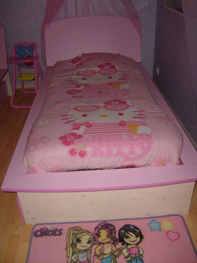 chambre compl te fille junior. Black Bedroom Furniture Sets. Home Design Ideas
