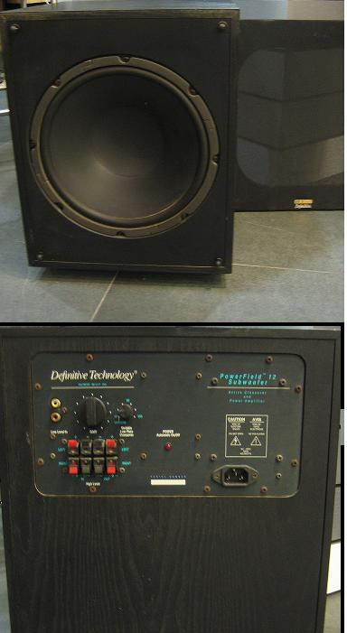 Definitive Technology Powerfield 12 Subwoofer Used Sold