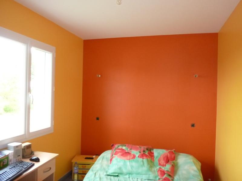 Chambre jaune et orange id es de d coration et de mobilier pour la conception de la maison for Decoration chambre camaieu orange