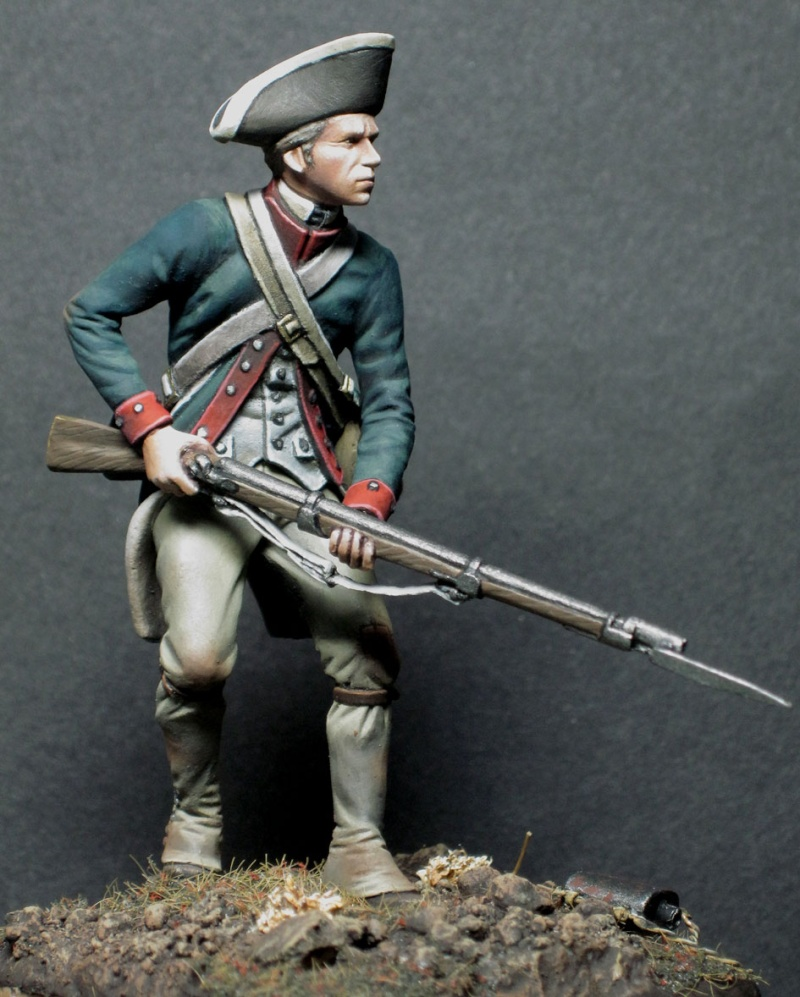 roles of colonial militia and continental army George washington was born in 1732 to a farm family in westmoreland county, virginia his first direct military experience came as a lieutenant colonel in the virginia colonial militia in 1754.