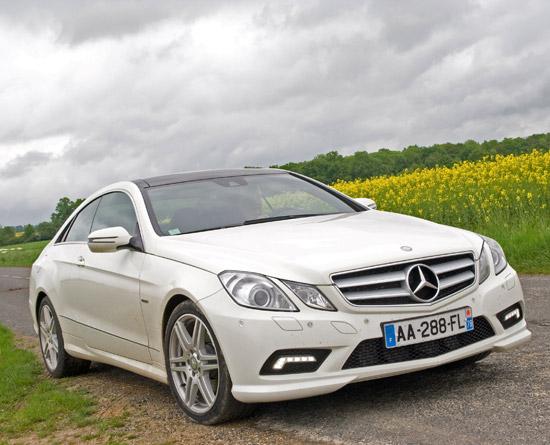Essai la mercedes e350 cdi executive coup c207 2010 - Mercedes classe e coupe 350 cdi ...