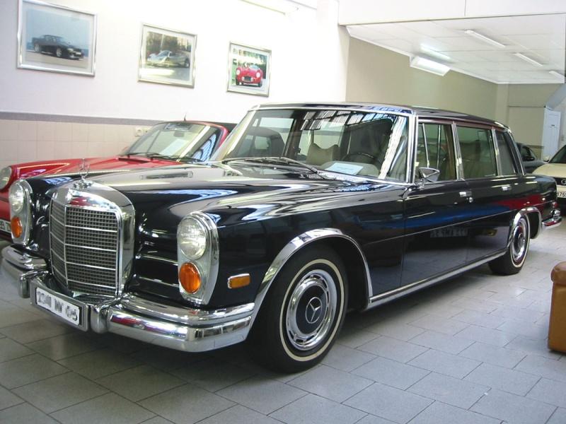 Bien-aimé Historique] La Mercedes 600 (W100 1963-1981) FN58
