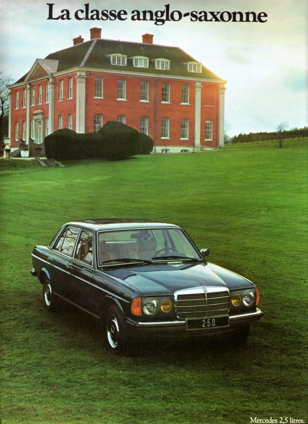 historique la mercedes benz w123 1976 1985. Black Bedroom Furniture Sets. Home Design Ideas