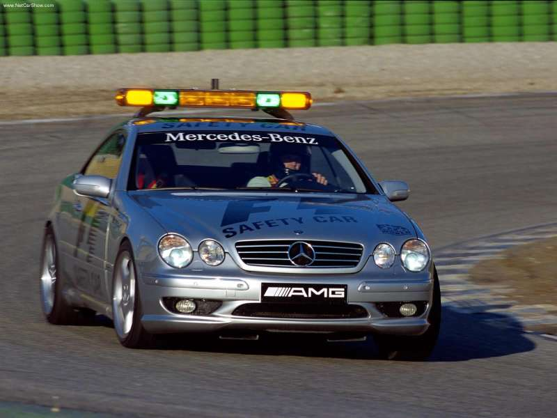 2000 Mercedes Benz Cl55 Amg F1 Safety Car. 2000: CL 55 AMG (C 215)