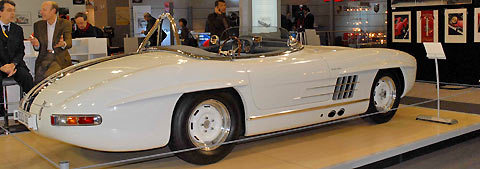 historique la 300 sl gullwing cabriolet w198 1952 1963. Black Bedroom Furniture Sets. Home Design Ideas