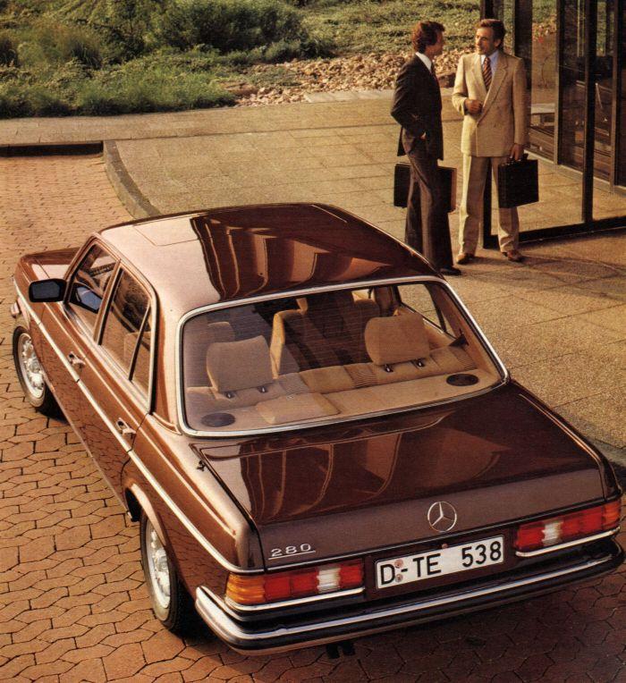 Historique la mercedes benz w123 1976 1985 for Mercedes benz w123