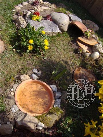 Exemple d 39 enclos pour tortues adultes - Comment nettoyer un carrelage qui vient d etre pose ...