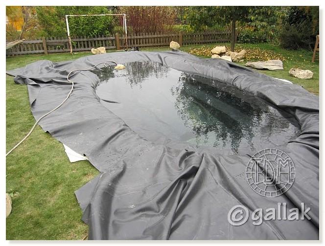 Exemples de bassins ext rieurs pour aquatiques - Bache pour bassin ...