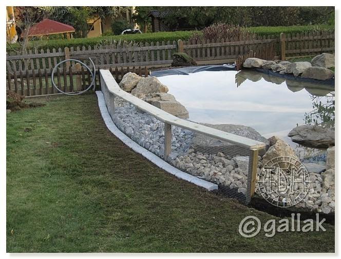 Exemples de bassins ext rieurs pour aquatiques for Bache pour bassin a poisson exterieur
