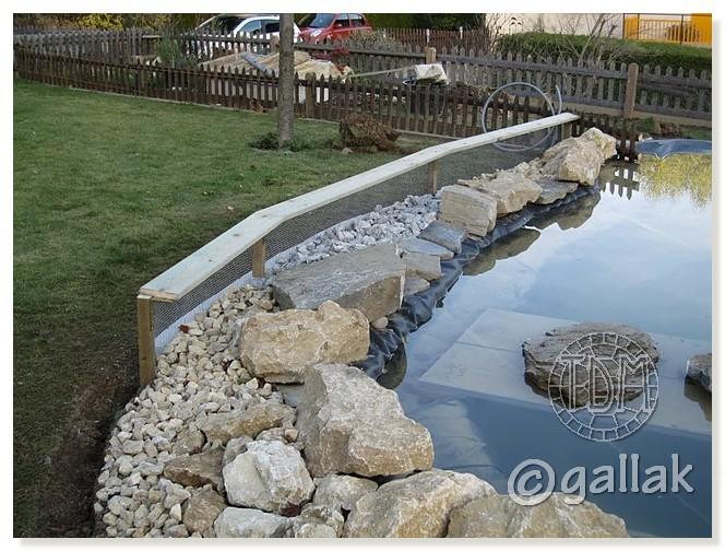 Exemples de bassins ext rieurs pour aquatiques for Bache pour bassin a poisson gamm vert
