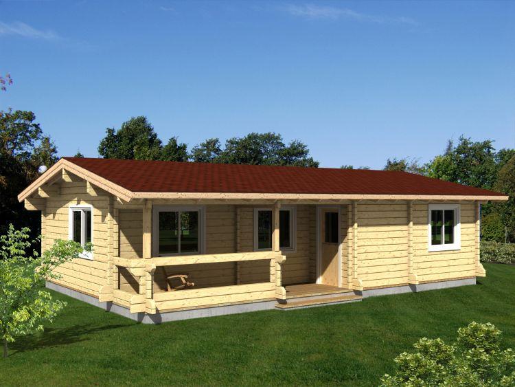 Compagnie des chalets nos produits et services for Construction maison 60m2