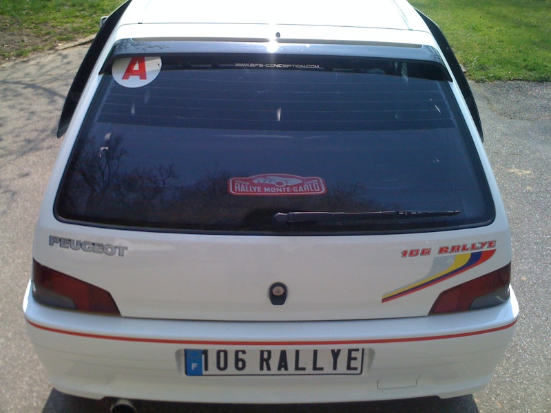 Romain76 peugeot 106 rallye 1300 for Interieur 106 xsi